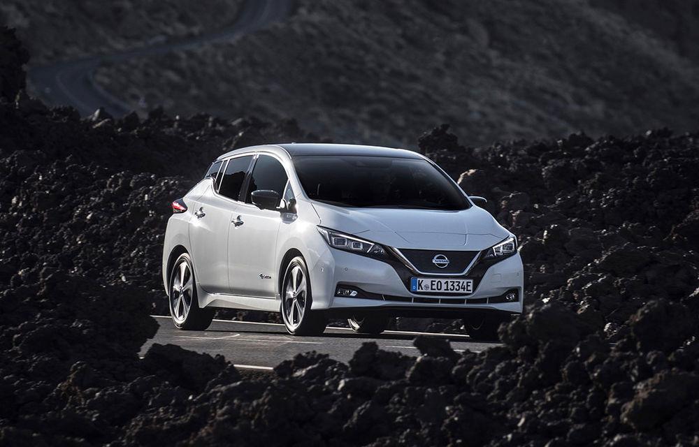 Schimbare de lider: Nissan Leaf devine cea mai vândută mașină electrică din Europa. Zoe și e-Golf completează clasamentul - Poza 1