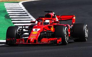 Spectacol la Silverstone: Vettel a câștigat cursa, Hamilton pe locul doi după un acroșaj cu Raikkonen în primul tur