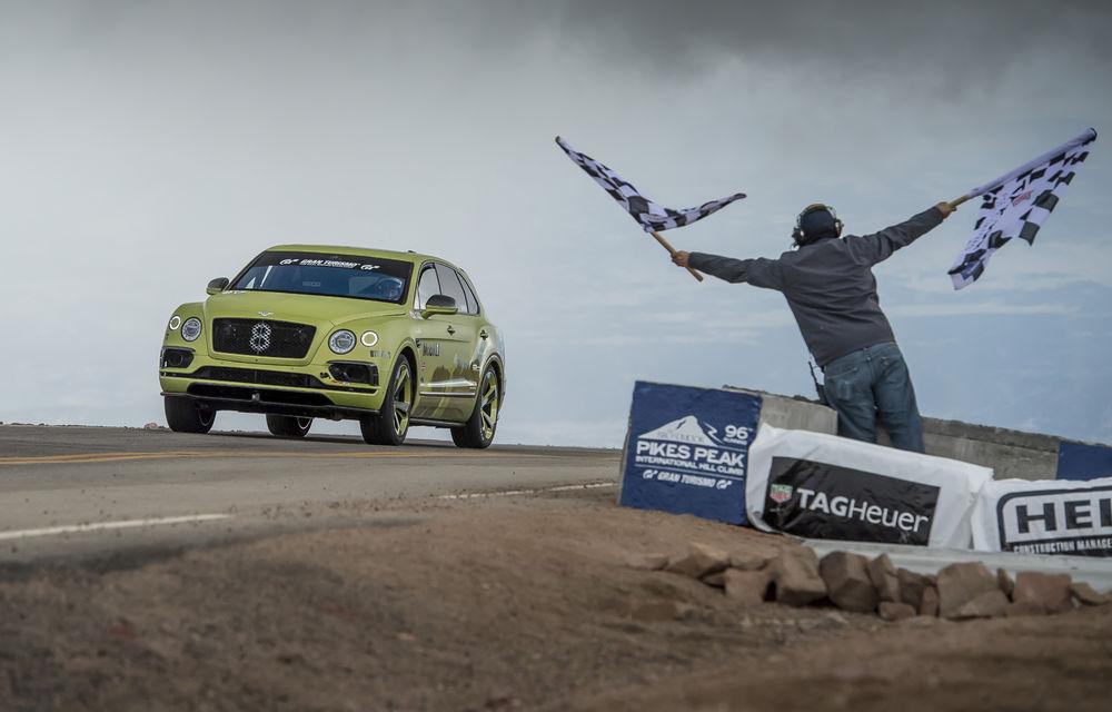 Premieră pentru publicul din Europa: Bentley Bentayga Pikes Peak va putea fi admirat în cadrul Goodwood Festival of Speed - Poza 1