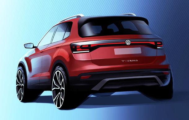 """Volkswagen T-Cross va avea o producție anuală de 500.000 de unități: """"Segmentul SUV-urilor subcompacte se va dubla în următorii 10 ani"""" - Poza 1"""
