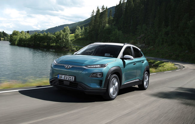 Test drive Hyundai Kona Electric
