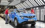 Sărbătoare la Nissan: japonezii au produs exemplarul Juke cu numărul 1.000.000 la fabrica din Sunderland