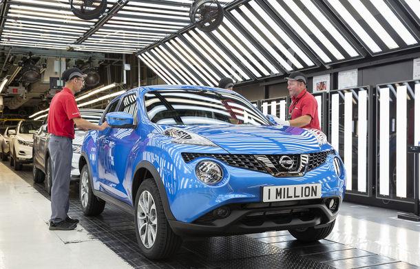 Sărbătoare la Nissan: japonezii au produs exemplarul Juke cu numărul 1.000.000 la fabrica din Sunderland - Poza 1