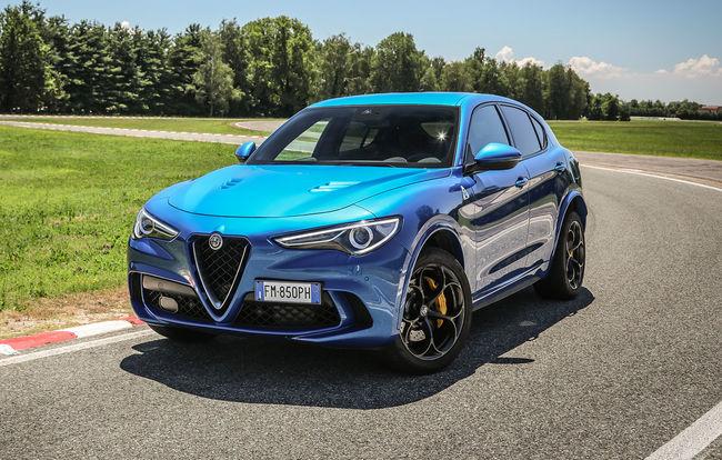 Test drive Alfa Romeo Stelvio