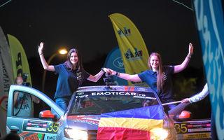 Premieră după aproape jumătate de secol: un echipaj românesc 100% feminin concurează într-un raliu din afara țării