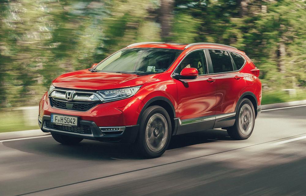 Detalii despre noua generație Honda CR-V: SUV-ul debutează în Europa cu un singur motor pe benzină - Poza 1