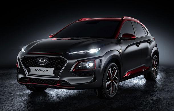 Hyundai Kona Iron Man: ediție specială dedicată fanilor filmelor Marvel cu Omul de Fier. Producția limitată va începe în decembrie - Poza 2