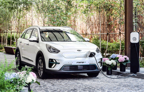 Kia Niro EV vine în Europa în octombrie: SUV-ul electric va fi disponibil pentru achiziție de la sfârșitul anului - Poza 1