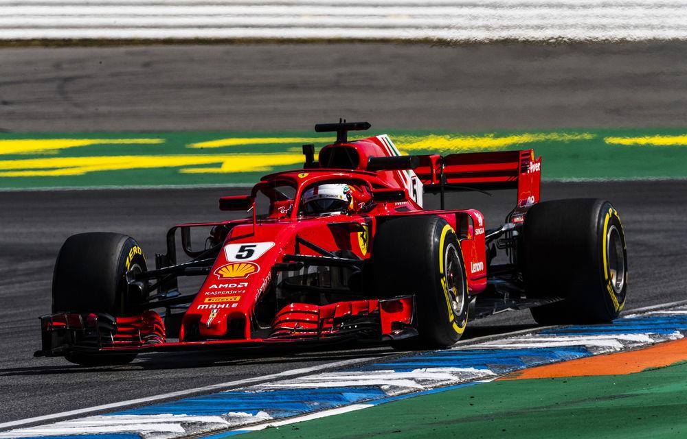 """Vettel descrie abandonul suferit în Germania: """"O mică greșeală, o mare dezamăgire"""" - Poza 1"""