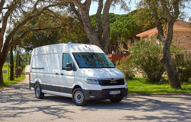 Primii pași în noua eră: MAN eTGE, utilitara electrică gândită pentru livrări urbane, și convoiul de camioane conectate ale producătorului bavarez - Poza 4