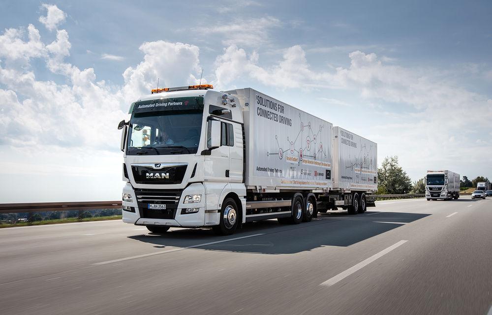 Primii pași în noua eră: MAN eTGE, utilitara electrică gândită pentru livrări urbane, și convoiul de camioane conectate ale producătorului bavarez - Poza 12