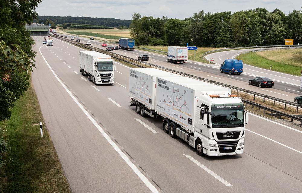 Primii pași în noua eră: MAN eTGE, utilitara electrică gândită pentru livrări urbane, și convoiul de camioane conectate ale producătorului bavarez - Poza 19