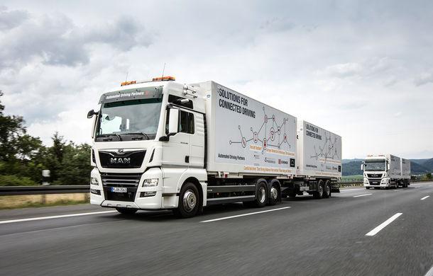 Primii pași în noua eră: MAN eTGE, utilitara electrică gândită pentru livrări urbane, și convoiul de camioane conectate ale producătorului bavarez - Poza 18