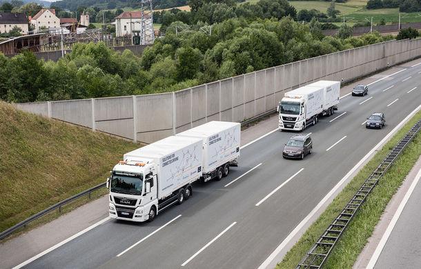 Primii pași în noua eră: MAN eTGE, utilitara electrică gândită pentru livrări urbane, și convoiul de camioane conectate ale producătorului bavarez - Poza 16