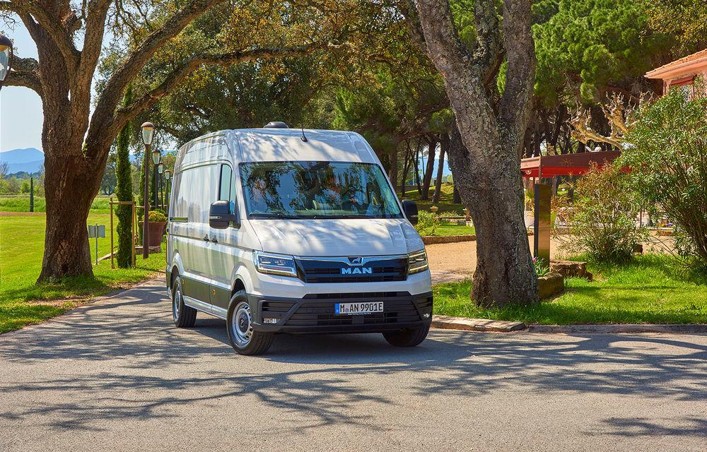 Primii pași în noua eră: MAN eTGE, utilitara electrică gândită pentru livrări urbane, și convoiul de camioane conectate ale producătorului bavarez - Poza 3