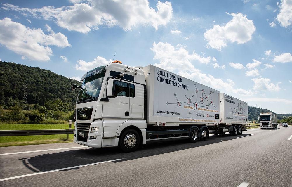 Primii pași în noua eră: MAN eTGE, utilitara electrică gândită pentru livrări urbane, și convoiul de camioane conectate ale producătorului bavarez - Poza 14