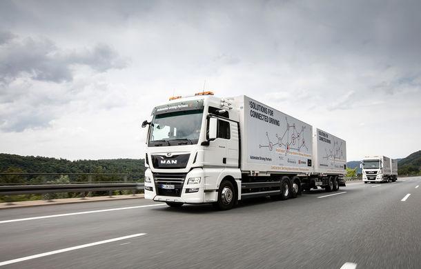 Primii pași în noua eră: MAN eTGE, utilitara electrică gândită pentru livrări urbane, și convoiul de camioane conectate ale producătorului bavarez - Poza 17