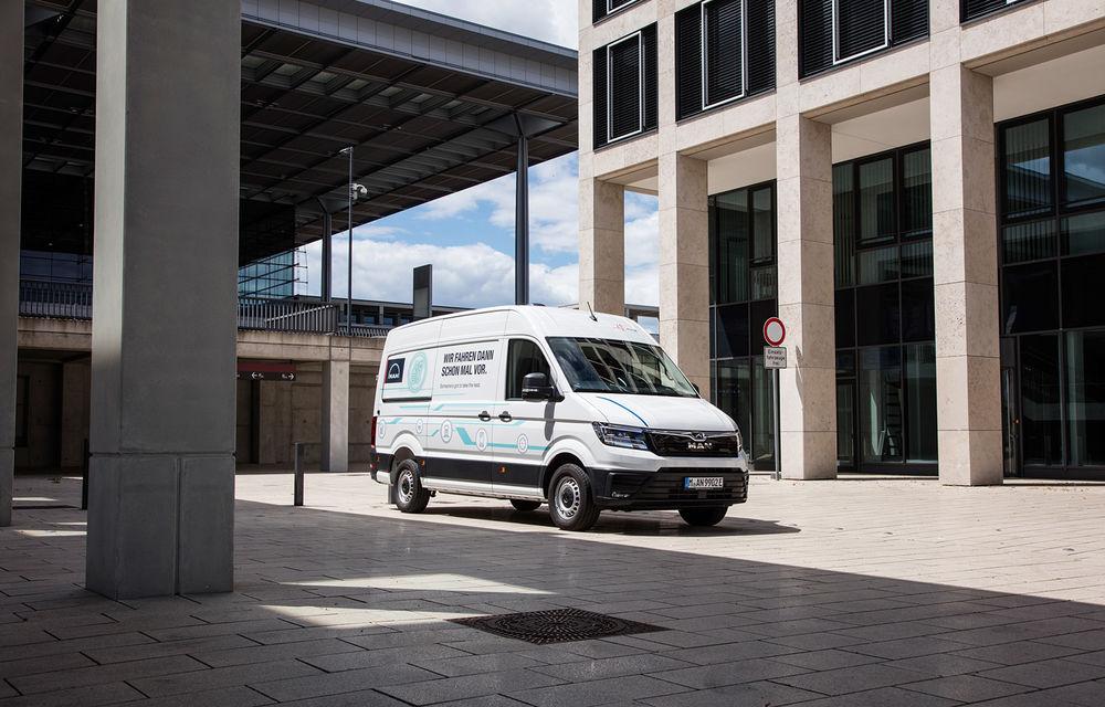 Primii pași în noua eră: MAN eTGE, utilitara electrică gândită pentru livrări urbane, și convoiul de camioane conectate ale producătorului bavarez - Poza 6