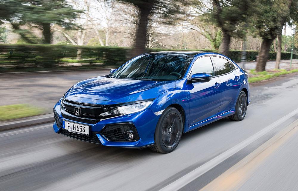 Honda Civic primește motorul diesel de 1.6 litri: constructorul japonez oferă și o cutie automată cu 9 rapoarte - Poza 6