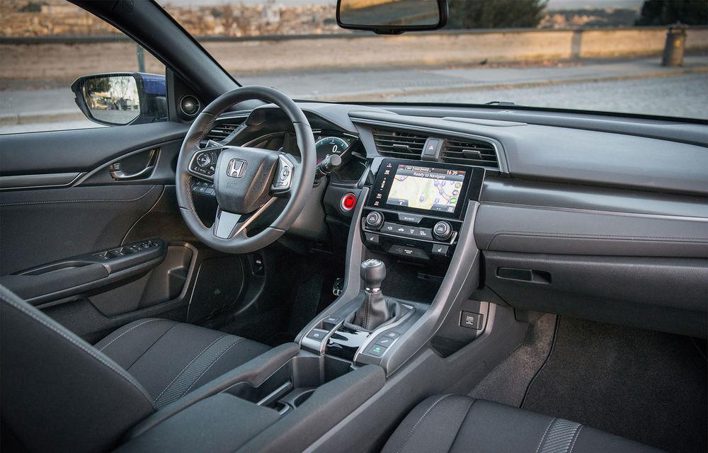 Honda Civic primește motorul diesel de 1.6 litri: constructorul japonez oferă și o cutie automată cu 9 rapoarte - Poza 14