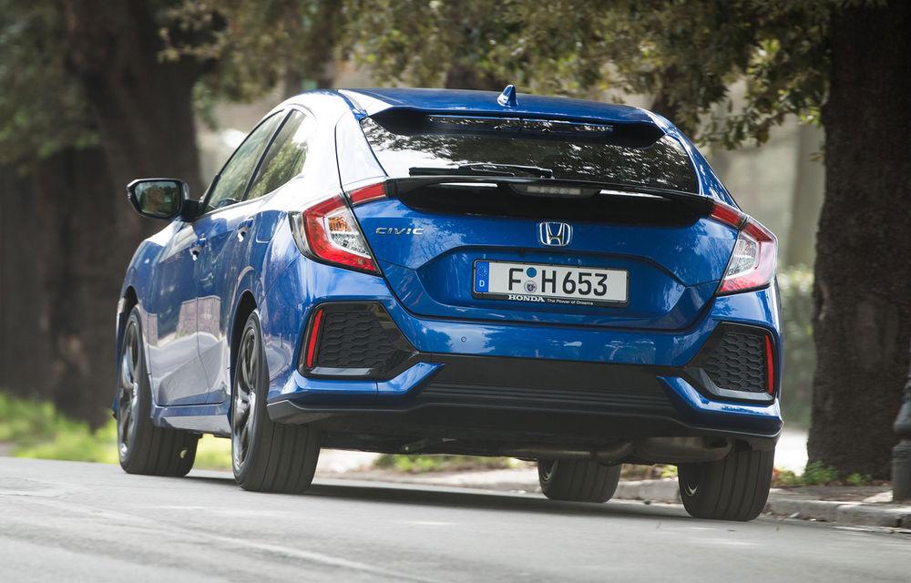 Honda Civic primește motorul diesel de 1.6 litri: constructorul japonez oferă și o cutie automată cu 9 rapoarte - Poza 5