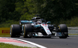 Hamilton a câștigat fără emoții la Hungaroring! Vettel, locul 2 după un acroșaj cu Bottas în finalul cursei