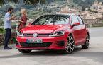 Volkswagen Golf, cea mai vândută mașină în Europa în prima jumătate a anului. Sandero și Duster ocupă locurile 13 și 18