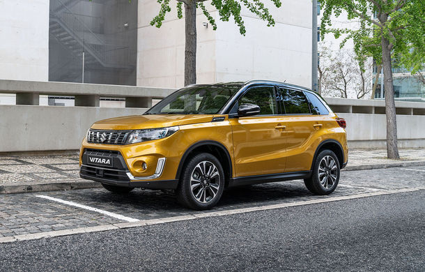 Primele imagini cu Suzuki Vitara facelift: modificări estetice minore și motoare turbo pe benzină de 1.0 litri și 1.4 litri - Poza 1