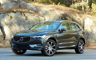 Volvo, vânzări în creștere pe cea mai mare piață din lume: modelele XC60 și S90 au fost cele mai căutate