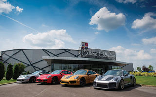 Exponate noi în cadrul galeriei Țiriac Collection: fanii Porsche vor putea admira patru exemplare 911 de top