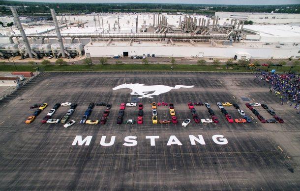 Sărbătoare la Ford: Mustang a ajuns la o producție totală de 10 milioane de exemplare - Poza 1