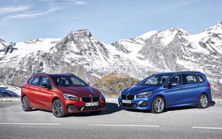 BMW Seria 2 Active Tourer și Seria 2 Gran Tourer facelift sunt disponibile și în România: start de la 26.500 de euro