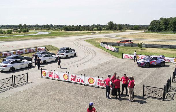 Shell Drive On Experience: o zi de vis pe circuit alături de Thierry Neuville, Dani Sordo și Augusto Farfus - Poza 2