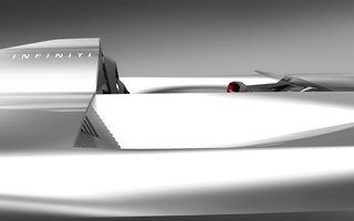 Imagini teaser cu viitorul concept pregătit de Infiniti: prototipul debutează la Pebble Beach și anunță viitoarea direcție de design a modelelor electrice