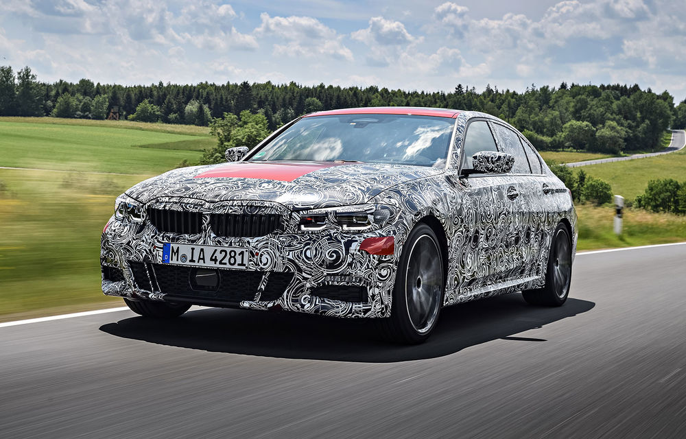 Detalii despre noua generație BMW Seria 3: masă redusă, comportament dinamic îmbunătățit și cel mai puternic motor cu 4 cilindri din istoria companiei - Poza 26