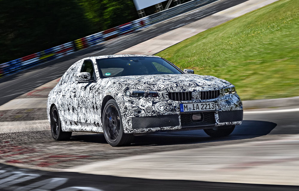 Detalii despre noua generație BMW Seria 3: masă redusă, comportament dinamic îmbunătățit și cel mai puternic motor cu 4 cilindri din istoria companiei - Poza 12
