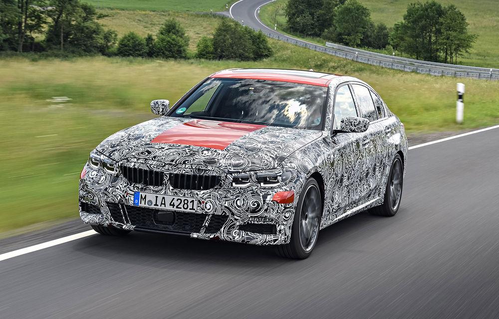 Detalii despre noua generație BMW Seria 3: masă redusă, comportament dinamic îmbunătățit și cel mai puternic motor cu 4 cilindri din istoria companiei - Poza 23
