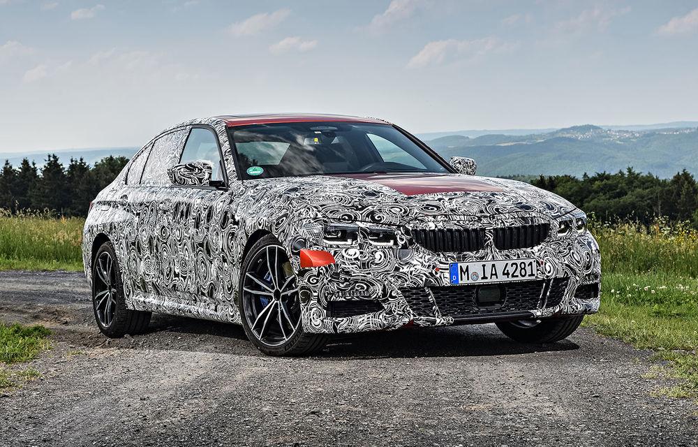 Detalii despre noua generație BMW Seria 3: masă redusă, comportament dinamic îmbunătățit și cel mai puternic motor cu 4 cilindri din istoria companiei - Poza 34