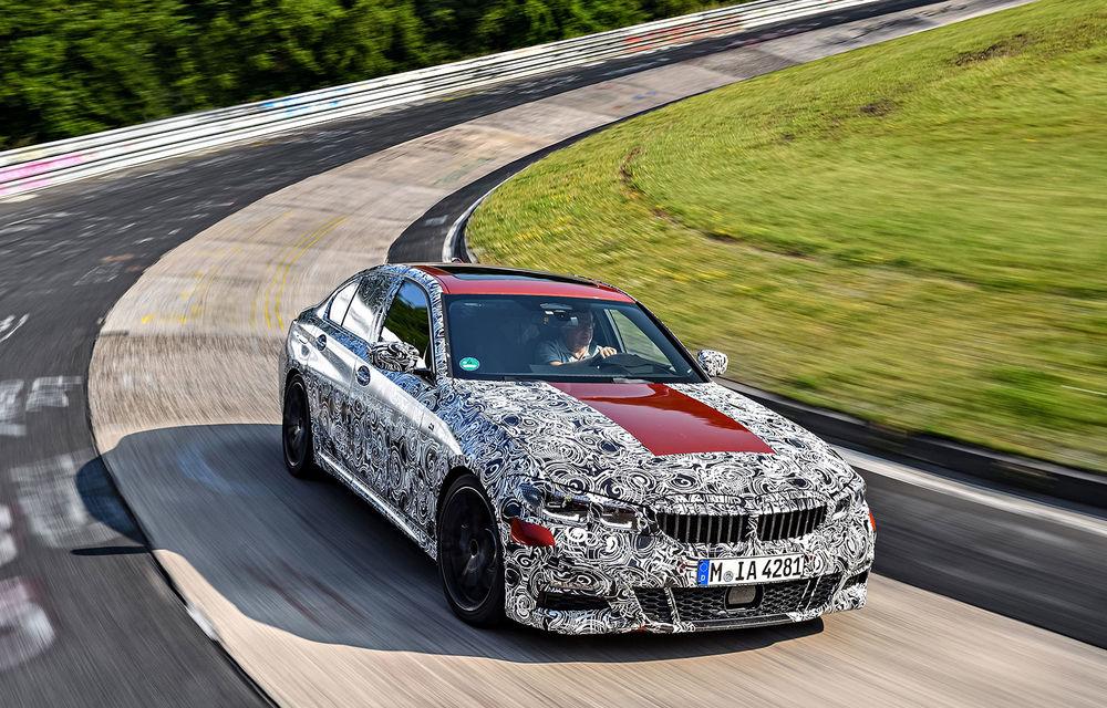 Detalii despre noua generație BMW Seria 3: masă redusă, comportament dinamic îmbunătățit și cel mai puternic motor cu 4 cilindri din istoria companiei - Poza 7