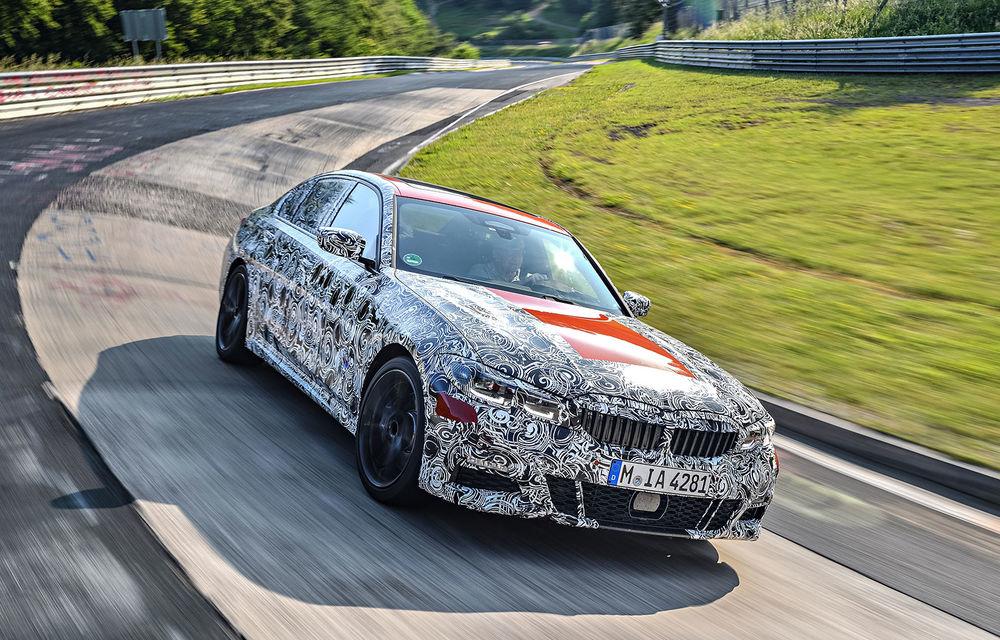 Detalii despre noua generație BMW Seria 3: masă redusă, comportament dinamic îmbunătățit și cel mai puternic motor cu 4 cilindri din istoria companiei - Poza 6