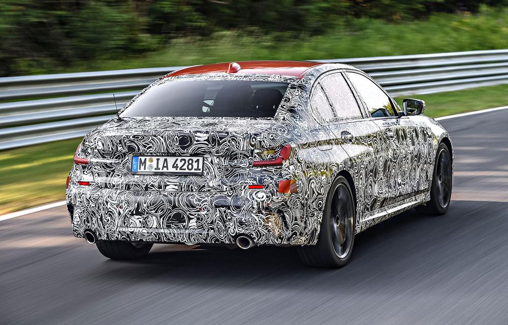 Detalii despre noua generație BMW Seria 3: masă redusă, comportament dinamic îmbunătățit și cel mai puternic motor cu 4 cilindri din istoria companiei - Poza 10