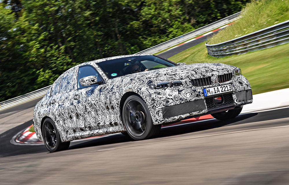 Detalii despre noua generație BMW Seria 3: masă redusă, comportament dinamic îmbunătățit și cel mai puternic motor cu 4 cilindri din istoria companiei - Poza 13