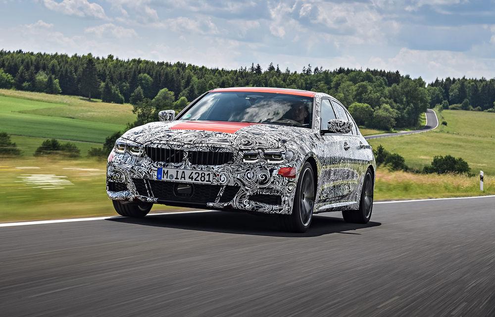 Detalii despre noua generație BMW Seria 3: masă redusă, comportament dinamic îmbunătățit și cel mai puternic motor cu 4 cilindri din istoria companiei - Poza 24