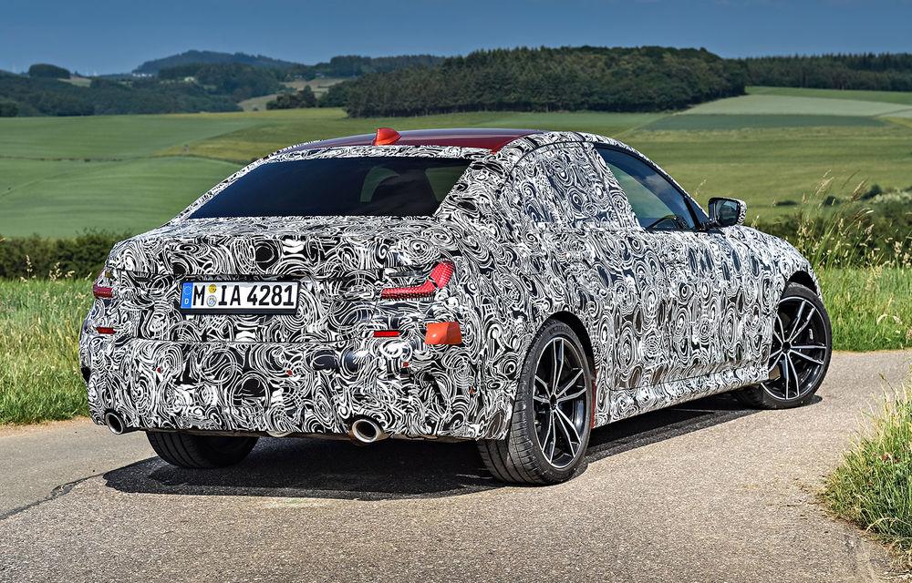 Detalii despre noua generație BMW Seria 3: masă redusă, comportament dinamic îmbunătățit și cel mai puternic motor cu 4 cilindri din istoria companiei - Poza 36