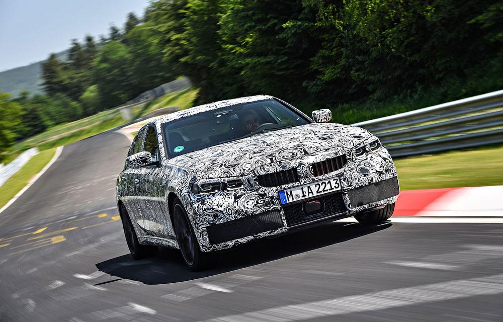 Detalii despre noua generație BMW Seria 3: masă redusă, comportament dinamic îmbunătățit și cel mai puternic motor cu 4 cilindri din istoria companiei - Poza 16