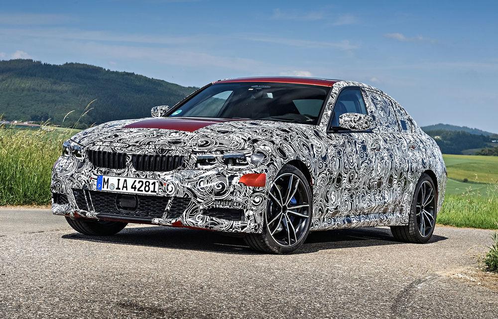 Detalii despre noua generație BMW Seria 3: masă redusă, comportament dinamic îmbunătățit și cel mai puternic motor cu 4 cilindri din istoria companiei - Poza 35