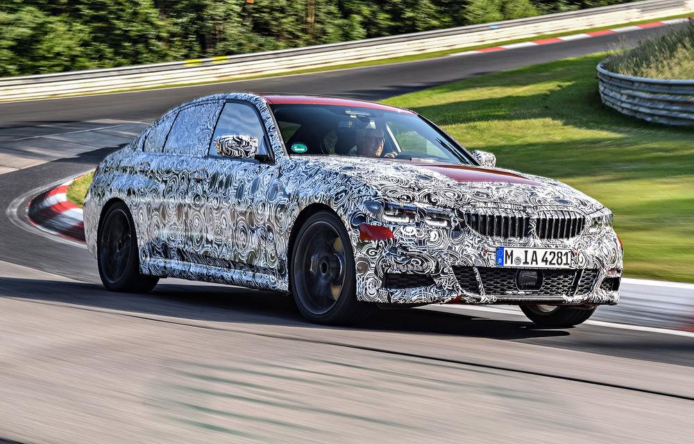 Detalii despre noua generație BMW Seria 3: masă redusă, comportament dinamic îmbunătățit și cel mai puternic motor cu 4 cilindri din istoria companiei - Poza 8