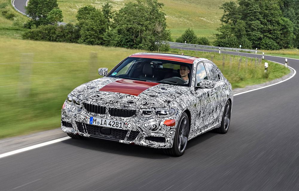 Detalii despre noua generație BMW Seria 3: masă redusă, comportament dinamic îmbunătățit și cel mai puternic motor cu 4 cilindri din istoria companiei - Poza 22