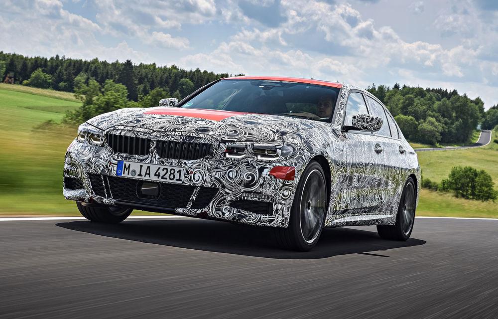 Detalii despre noua generație BMW Seria 3: masă redusă, comportament dinamic îmbunătățit și cel mai puternic motor cu 4 cilindri din istoria companiei - Poza 25