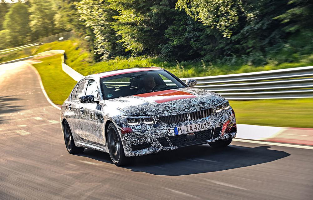 Detalii despre noua generație BMW Seria 3: masă redusă, comportament dinamic îmbunătățit și cel mai puternic motor cu 4 cilindri din istoria companiei - Poza 5